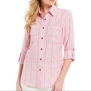 Michael Kors grey button shirt